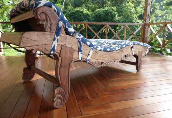 Bali Home Designs traditional bench