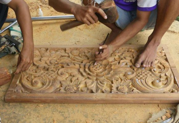 Bali Home Designs wood carving 8