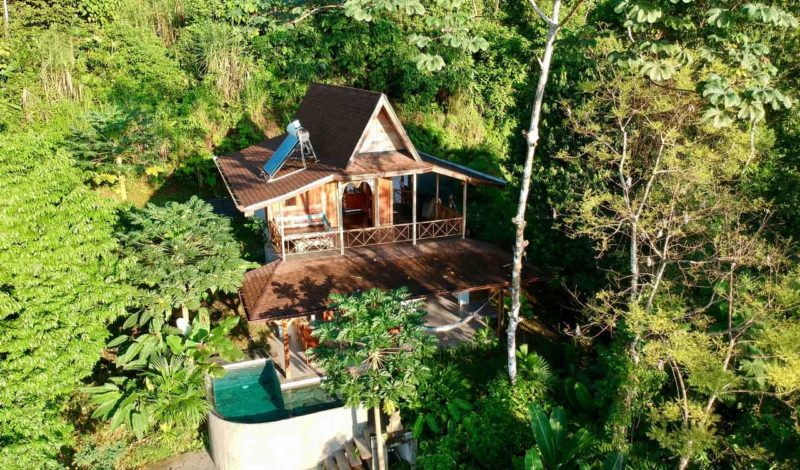 Drone picture 800x470 - Authentic Balinese Villa's